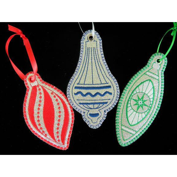 Ornament Set - Retro