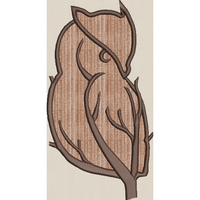 TreeOwl Applique