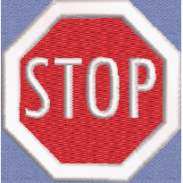 Patch - Stop Sign