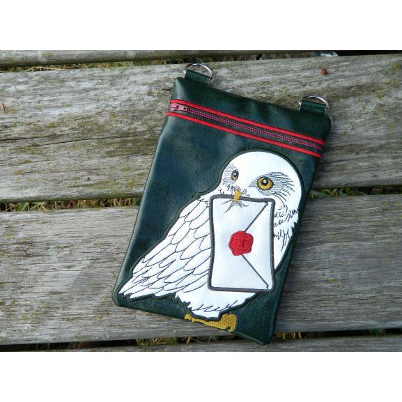 Zip Bag 10X7 - Mail Delivery Owl