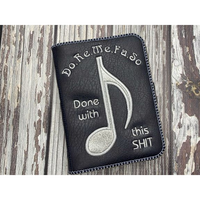 Notebook Cover - Do Re Me .....