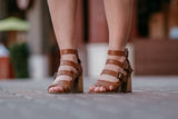 Flirty Buckled Sandals