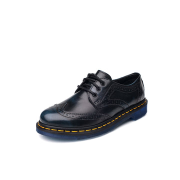 BEFFON Women's Major Decorated Leather Oxford Shoes