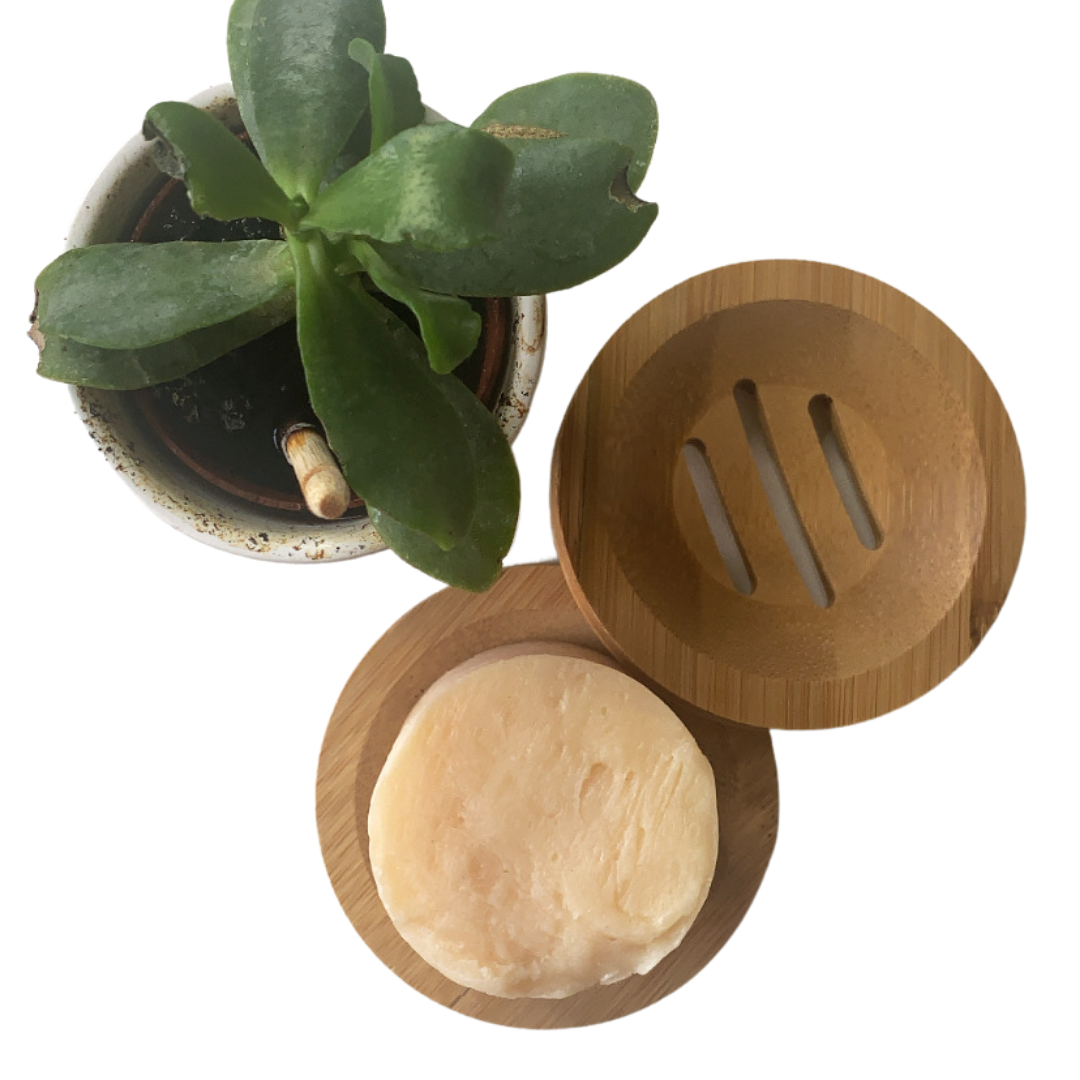 Natural Bamboo Soap Dish  Duo