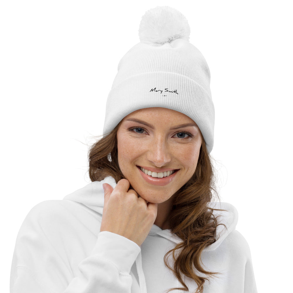 Pom Pom Mary Smith Beanie
