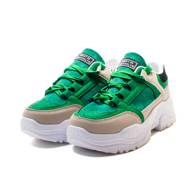 West Brooklyn 52 Breathable Platform Women's Shoes - Green