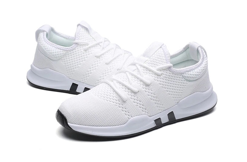 EasyStep Line Breathable Running Shoes for Him&Her - White