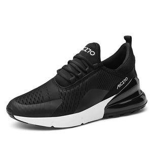 AIR AIC 270 Light Running Men's Shoes - Black-White