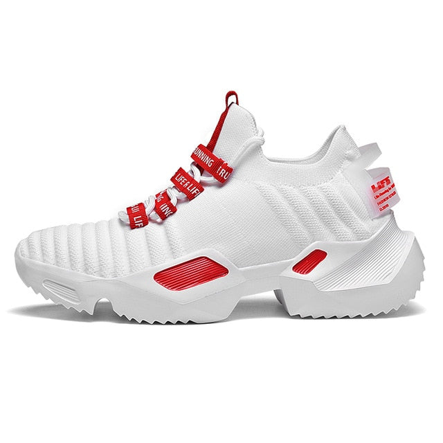 Urban Booster Pro Light Men's Sneakers - White-Red