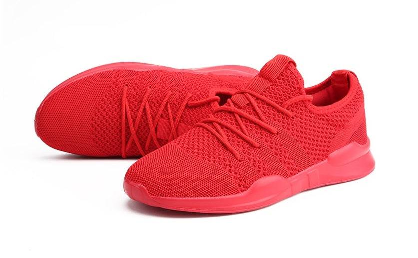 EasyStep Line Breathable Running Shoes for Him&Her - Red