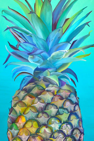 Teal Pineapple