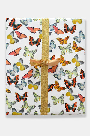 Butterfly Toss Gift Wrap