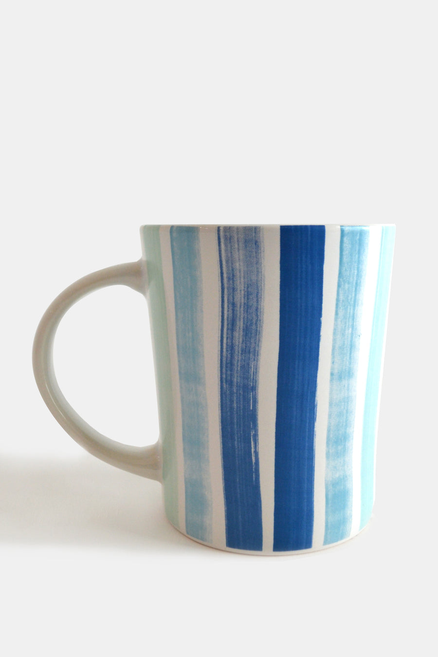 Brushstroke Stripe Ceramic Mug