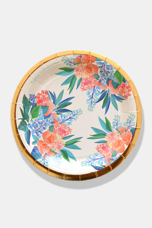 Pacific Blue Paper Plates