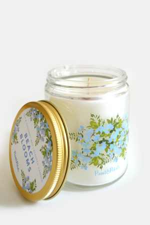 Beach Blooms Jar Candle