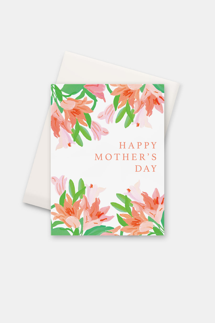 Mother's Day, Coral Lilies