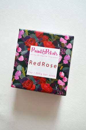 Red Rose Soap
