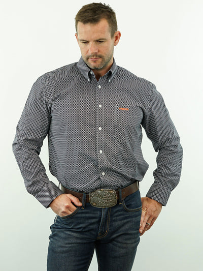 Bronco - Print, Option Cuff, Classic Fit Shirt