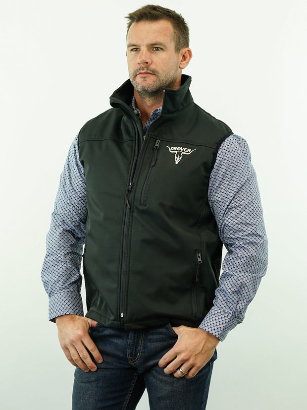 Drover, Softshell Vest - Black