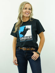 Drover Rodeo - T-Shirt, Black
