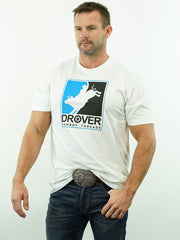 Drover Rodeo - T-Shirt, White