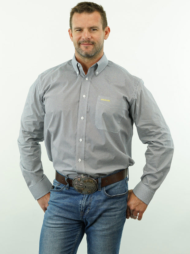 Lone Star - Print, Option Cuff, Classic Fit Shirt