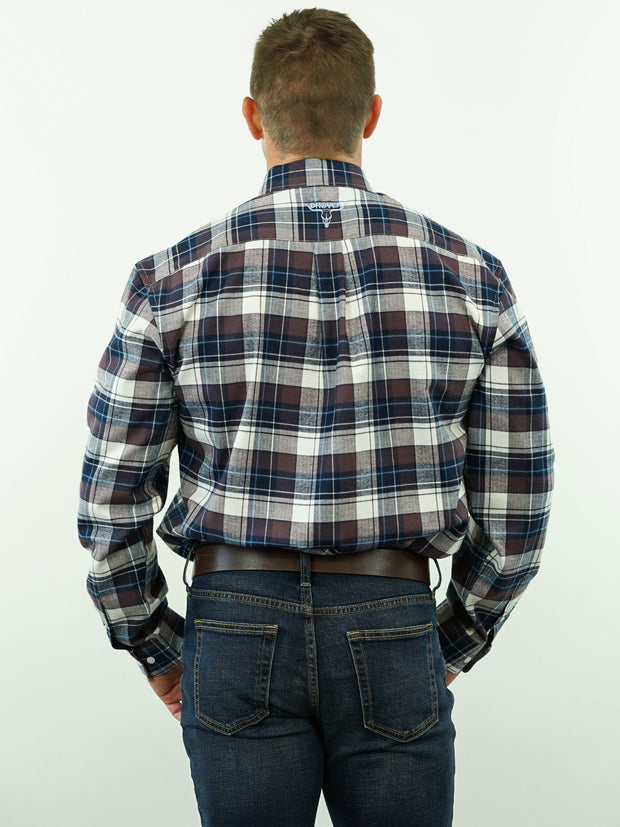 Posse - Plaid, Option Cuff, Classic Fit Shirt
