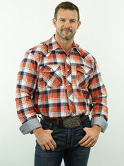 Remington - Plaid, Snap, Option Cuff, Classic Fit Shirt