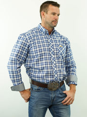 Sagebrush - Plaid, Option Cuff, Classic Fit Shirt