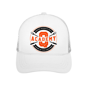 Trucker Adjustable Hat Mesh Cutout