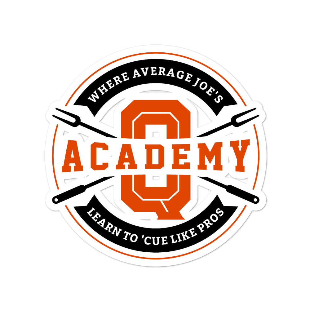 Academy of Q Bubble-free stickers