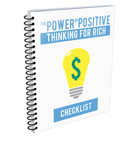 The Power of Positive Thinking for Rich Ebook - Motivational Printables