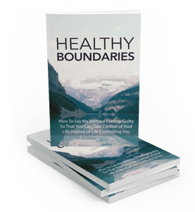 Healthy Boundaries - Motivational Printables