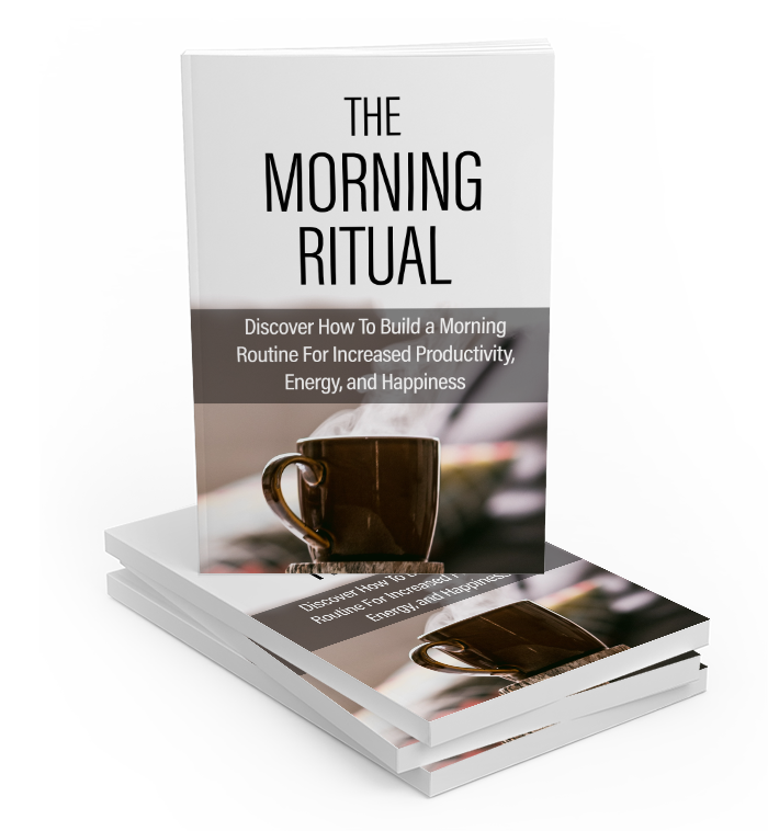 Morning Ritual Ebook - Motivational Printables