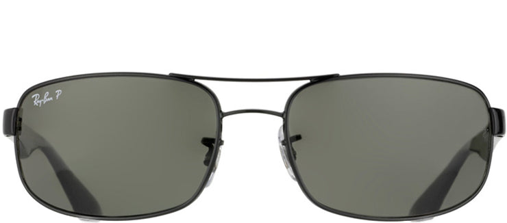 Ray-Ban RB 3445 002/58 Sport Metal Black Sunglasses with Grey Polarized Lens