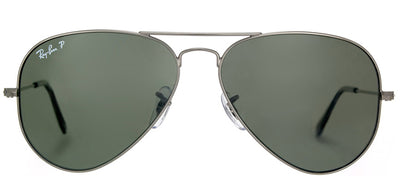 Ray-Ban RB 3025 004/58 Aviator Metal Gold Sunglasses with Grey Gradient Lens