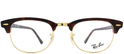 Ray-Ban RX 5154 2372 Clubmaster Plastic Tortoise/ Havana Eyeglasses with Demo Lens