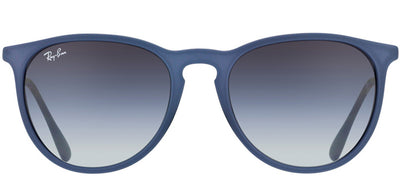 Ray-Ban RB 4171 60028G Oval Plastic Blue Sunglasses with Grey Gradient Lens