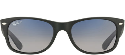 Ray-Ban RB 2132 601S78 Wayfarer Plastic Black Sunglasses with Grey Gradient Polarized Lens