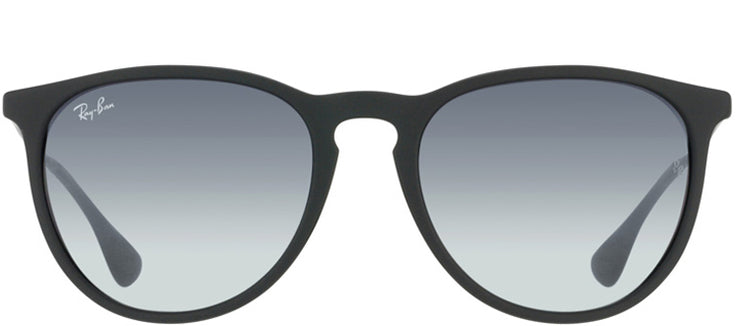 Ray-Ban RB 4171 622/8G Oval Plastic Black Sunglasses with Grey Gradient Lens