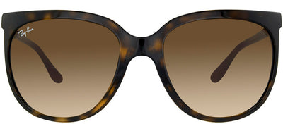 Ray-Ban RB 4126 710/51 Fashion Plastic Tortoise/ Havana Sunglasses with Brown Gradient Lens