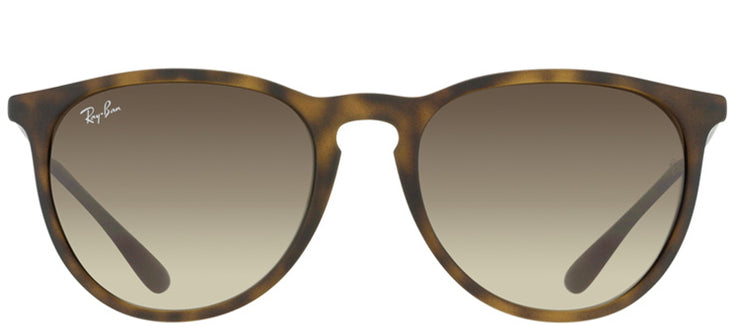 Ray-Ban RB 4171 865/13 Oval Plastic Tortoise/ Havana Sunglasses with Brown Gradient Lens