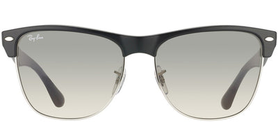 Ray-Ban RB 4175 877/32 Clubmaster Plastic Black Sunglasses with Grey Gradient Lens