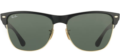 Ray-Ban RB 4175 877 Clubmaster Plastic Black Sunglasses with Green Lens