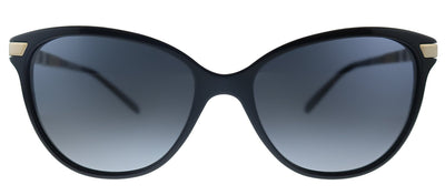 Burberry BE 4216 3001T3 Cat-Eye Plastic Black Sunglasses with Grey Gradient, Polarized Lens