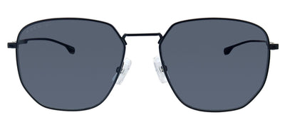 Hugo Boss BOSS 0992/F/S 003 Square Metal Black Sunglasses with Grey Blue Lens