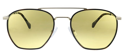 Hugo Boss BOSS 1090 CGS Geometric Metal Gold Sunglasses with Yellow Lens