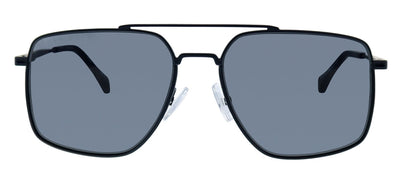 Hugo Boss BOSS 1091/S 003 Aviator Metal Black Sunglasses with Grey Blue Lens