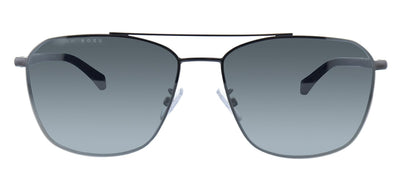 Hugo Boss BOSS 1103/F/S KJ1 Aviator Metal Ruthenium Sunglasses with Silver Mirror Lens