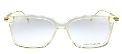 Bottega Veneta BV 1009O 005 Rectangle Plastic Clear Eyeglasses with Demo Lens